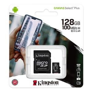 Memoria MicroSdXC Kingston de 128G Clase 10