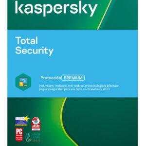 Kasperky Total Security 5 usuarios, Licencia de Antivirus